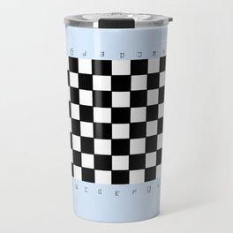 chessboard 3 Travel Mug
