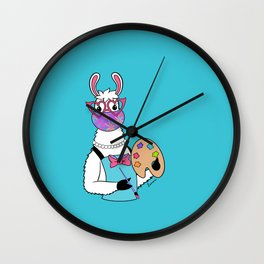 Artists Give Love Wall Clock