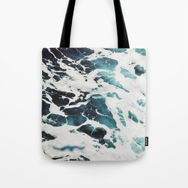 The Marbled Sea Tote Bag