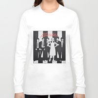 blondie Long Sleeve T-shirts featuring Blondie Stencil by FutureAstro