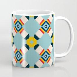 Bright criss cross Coffee Mug