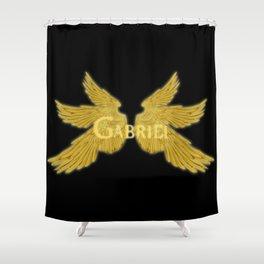 Archangel Gabriel Wings Shower Curtain