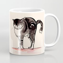 Cat Stretching#1 Coffee Mug