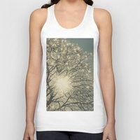sparkle Tank Tops featuring Winter Sparkle by Pure Nature Photos