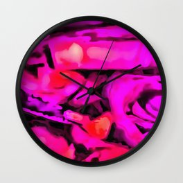 Deep In The Heart Wall Clock
