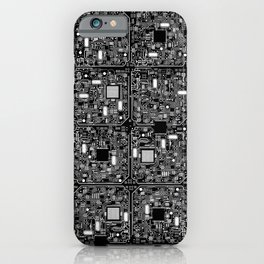 Serious Circuitry iPhone Case