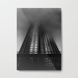 Downtown Toronto Fogfest No 11 Metal Print
