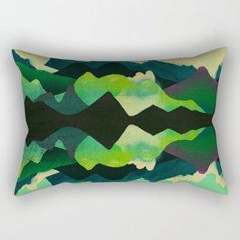 Mountain Reflections Rectangular Pillow