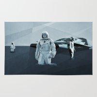 interstellar Area & Throw Rugs featuring Interstellar by ANDRESZEN