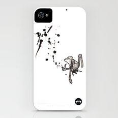 Pensive Primate. Slim Case iPhone (4, 4s)