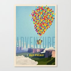 UP - Adventure Is Out There! Canvas Print