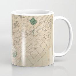 Vintage Map of South Boston (1880) Coffee Mug