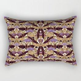 Art Nouveau Bats  Large Pattern Rectangular Pillow