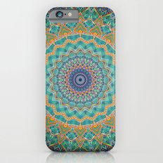 Travel Into Dimensions Mandala. iPhone 6s Slim Case