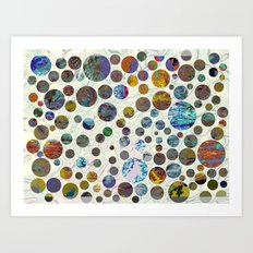 million foreign planets Art Print
