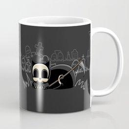Grim Reapets - A Cat Named Coffin - Halloween Kitty Coffee Mug