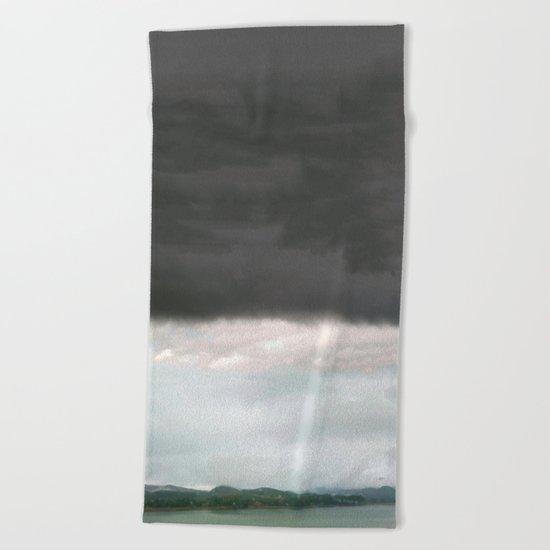 Cicatrized Earth Beach Towel