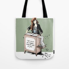 Comme une rengaine... Tote Bag