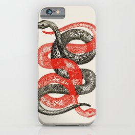 Twin Snakes iPhone Case