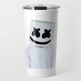 Marshmello Marshmello Box Travel Mug
