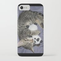 berserk iPhone & iPod Cases featuring Monroe Kitten by Berserk Cyborg Panda