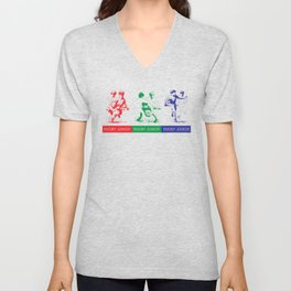 Rugby Junior  by PPereyra Unisex V-Neck