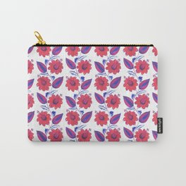 """Flowers, """"Petrykivka"""" Carry-All Pouch"""