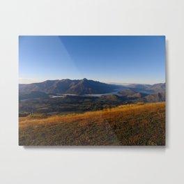 Coronet Peak Metal Print