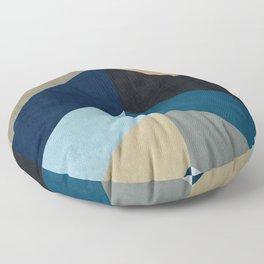 Triangular composition XX Floor Pillow