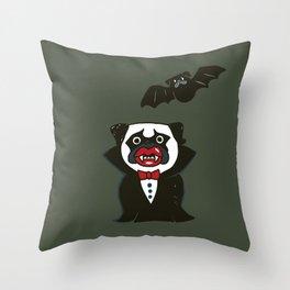 PUGCULA Throw Pillow
