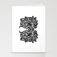 gemini Stationery Cards featuring Gemini by Mario Sayavedra