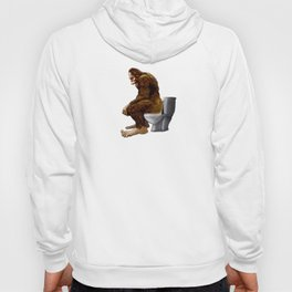 Bigfoot breaks into some Dude's Cabin and Totally takes a fat Dump in his toilet Hoody