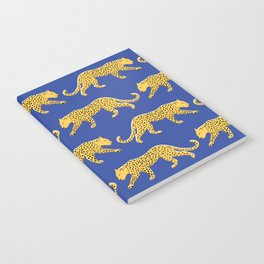 The New Animal Print - Blue Notebook