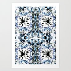 Kaleidoscope Crystals Art Print