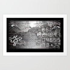#ERROR57.09 Art Print