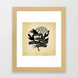Handmaid's Tale - NOLITE TE BASTARDES CARBORUNDORUM Framed Art Print