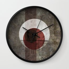 Concrete Summer Wall Clock