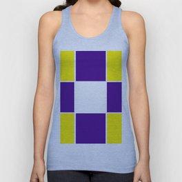 Team Colors 3...purple ,yellow Unisex Tank Top