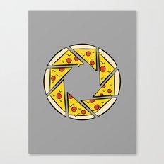 Pizzaperture Canvas Print