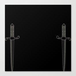 Mighty Gryffindor Canvas Print