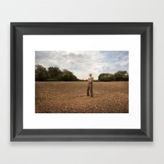 Farmer 2 Framed Art Print