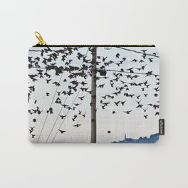 Birds in Flight Carry-All Pouch