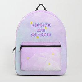 Leave Me Alone Backpack