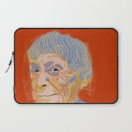 Ursula K. Le Guin portrait + quote Laptop Sleeve