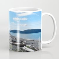 kirby Mugs featuring Camp Kirby by Krista Dawn