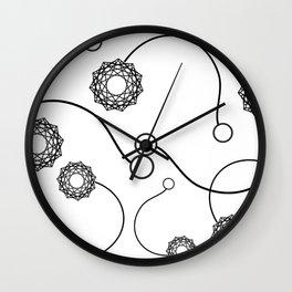Poi Wall Clock
