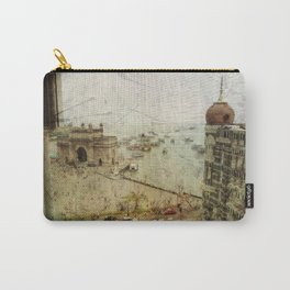 Taj Mahal Palace hotel and the Gateway of India monument, Mumbai, India Carry-All Pouch