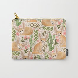 Fantastic Fennec Foxes Carry-All Pouch