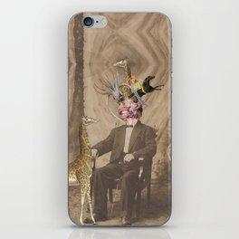 last night i dreamt that [a giraffe] loved me  iPhone Skin