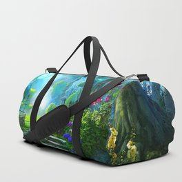 Fascinating Gorgeous Idyllic Dreamy Magic Garden UHD Duffle Bag